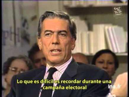 Entrevista a Mario Vargas Llosa 5 días después de las elecciones de1990