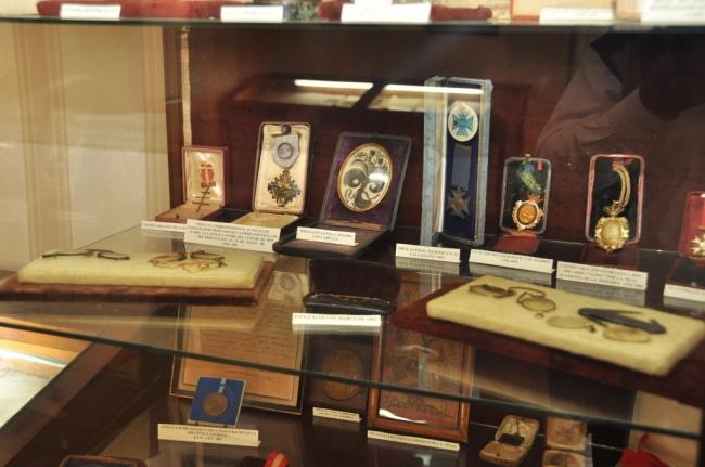 En la Casa Museo Ricardo Palma se conserva la medalla por su participación el Combate de 2 de mayo. Foto: Municipalidad de Miraflores.