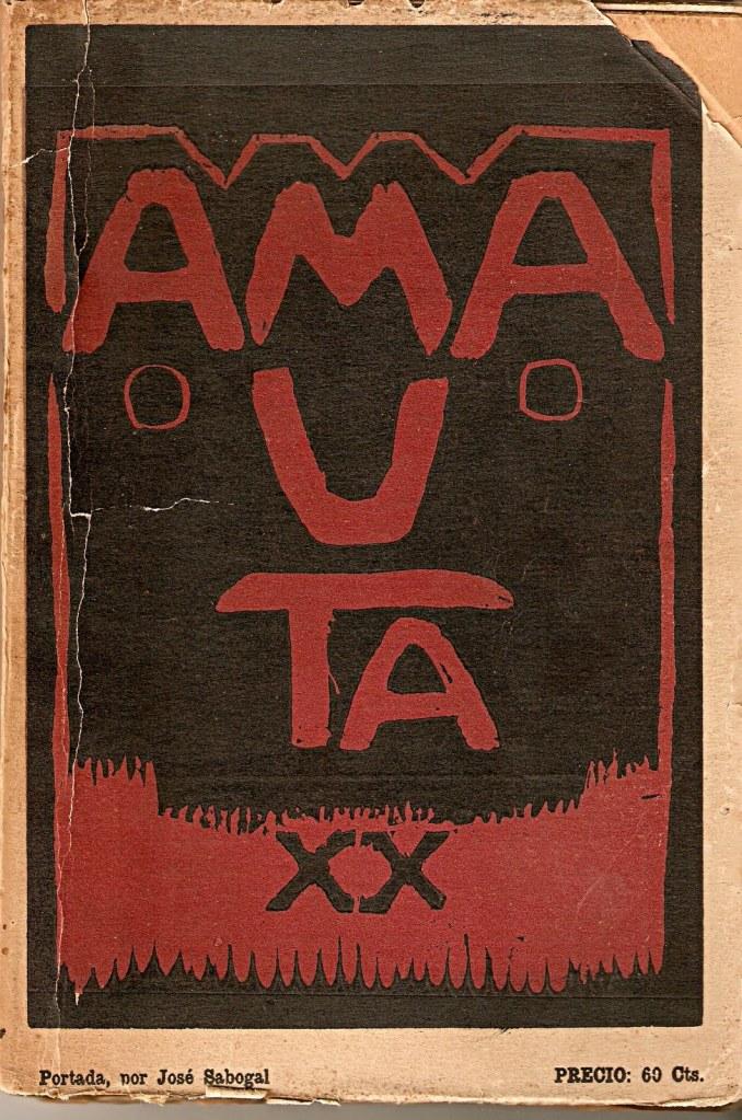 Una de las tantas portadas de la mítica Amauta que realizó Sabogal.