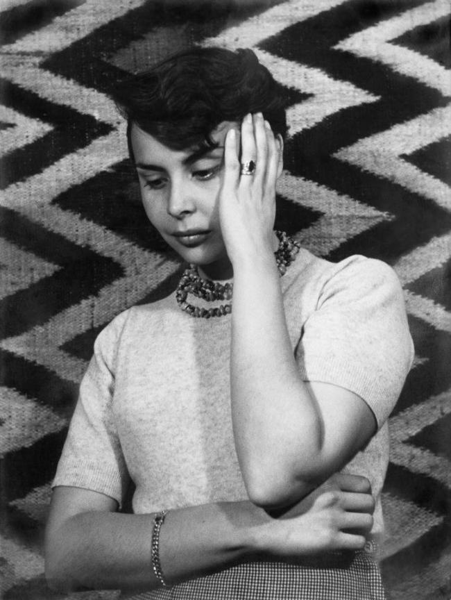 Blanca Varela joven y bella