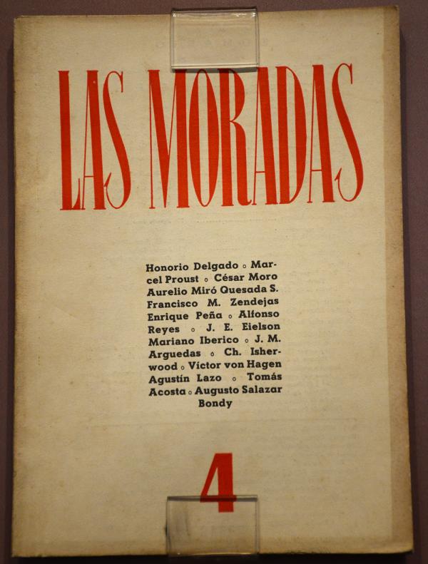 Imagen de Las Moradas N° 04. Lastimosamente, no encontramos una del Primer Número.
