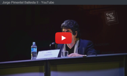 Jorge Pimentel lee Balada para uncaballo