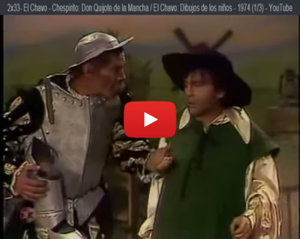 Chespirito y los clásicos de laliteratura
