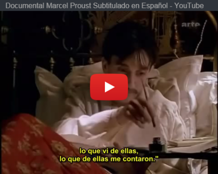 #CineLiterario: Documental sobre Marcel Proust