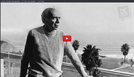 Emilio Adolfo Westphalen lee su poema ¿Qué es más grande – el mar o la palabra con la que lonombramos?