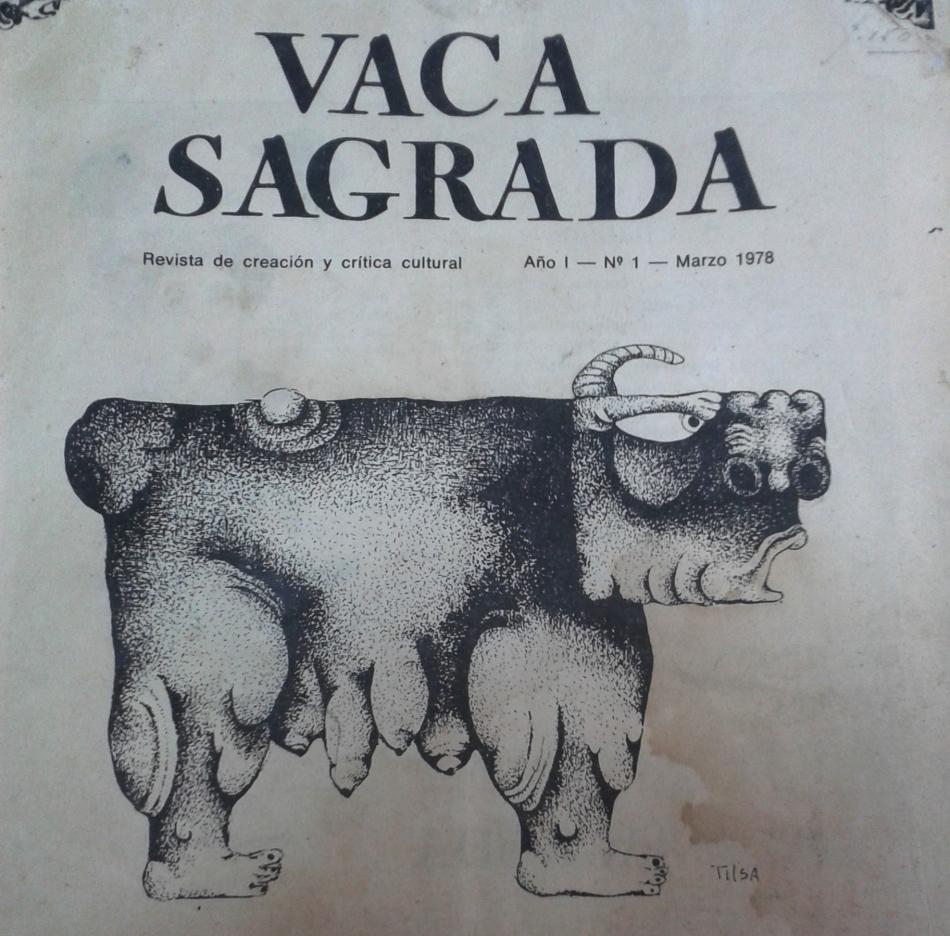 Vaca sagrada, la revista que creó JoséWatanabe
